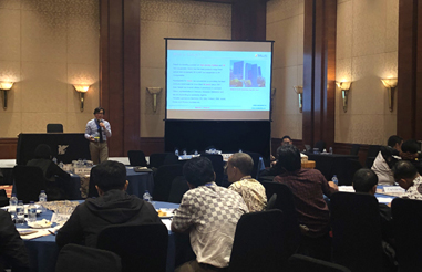 Saluki Held a Presentation with Telkom Indonesia